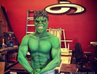 Hulk Body Paint
